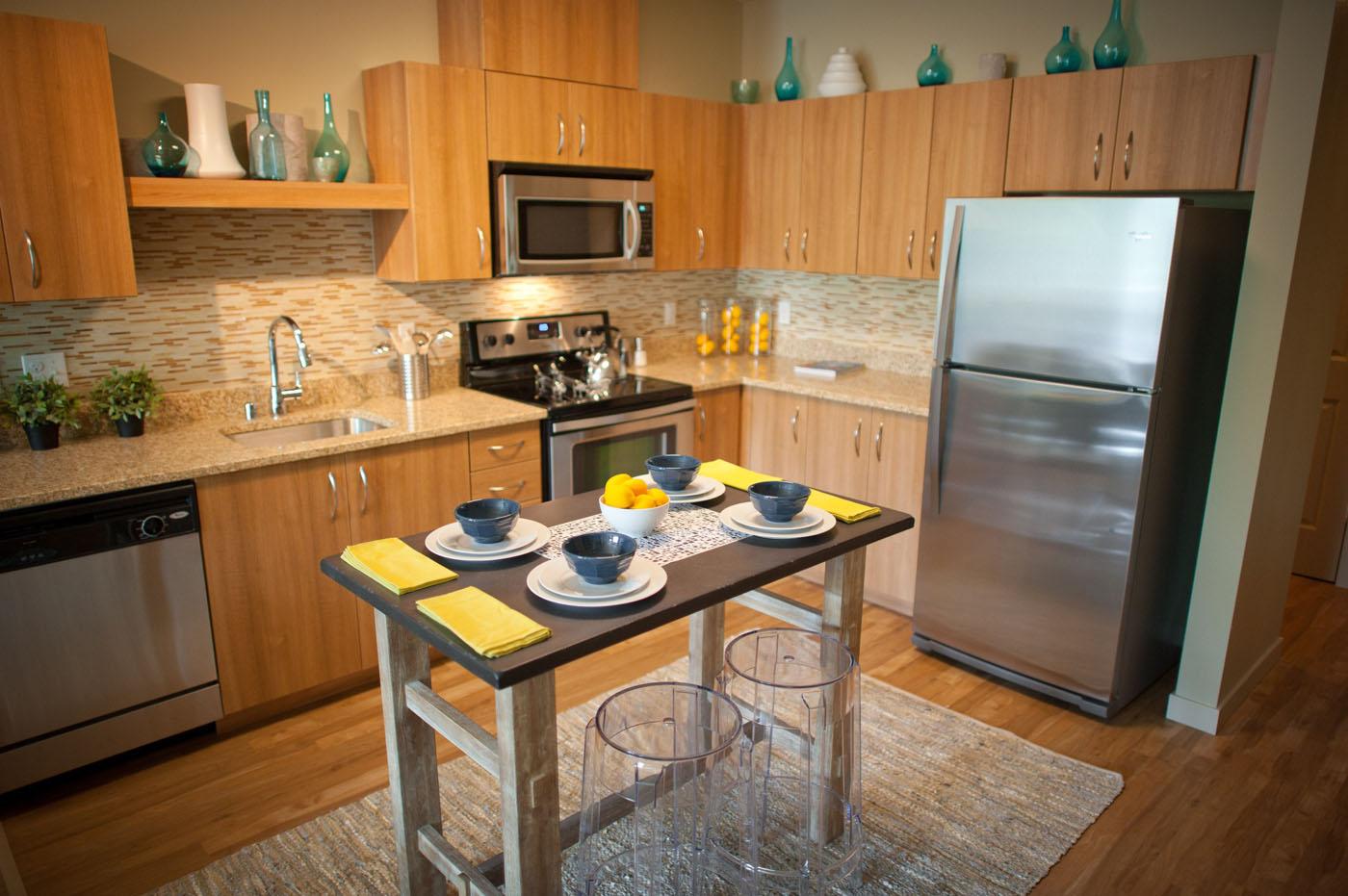 2012 May 29 - Jasper Apartments interiors, Wedgwood, Seattle. CREDIT: Richard Walker/Vecta Photo