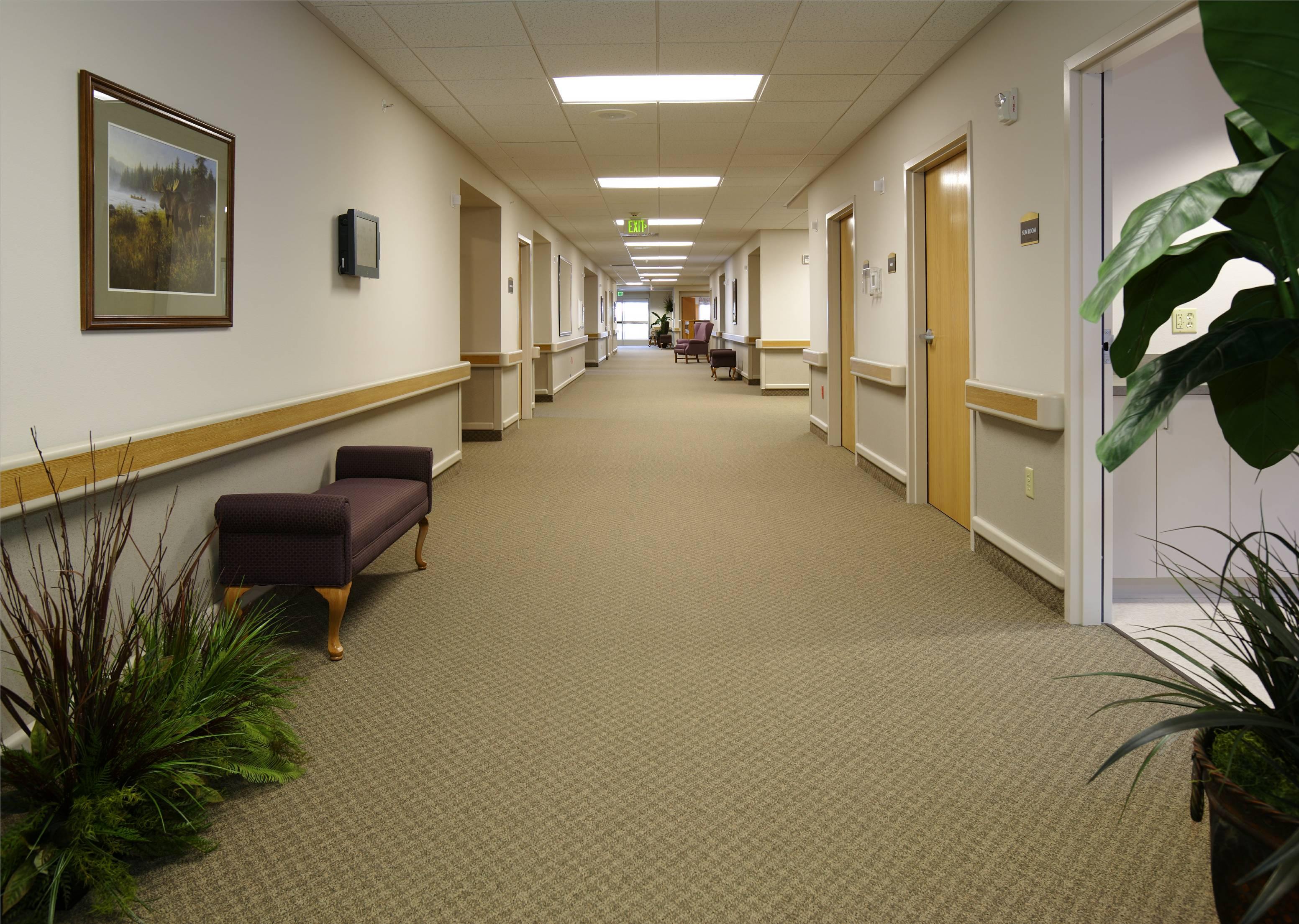 Interior of Main Facility