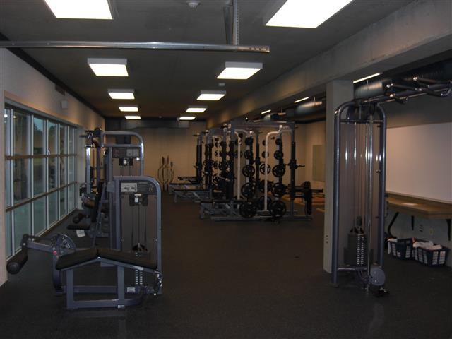 Interior of Fitness Center