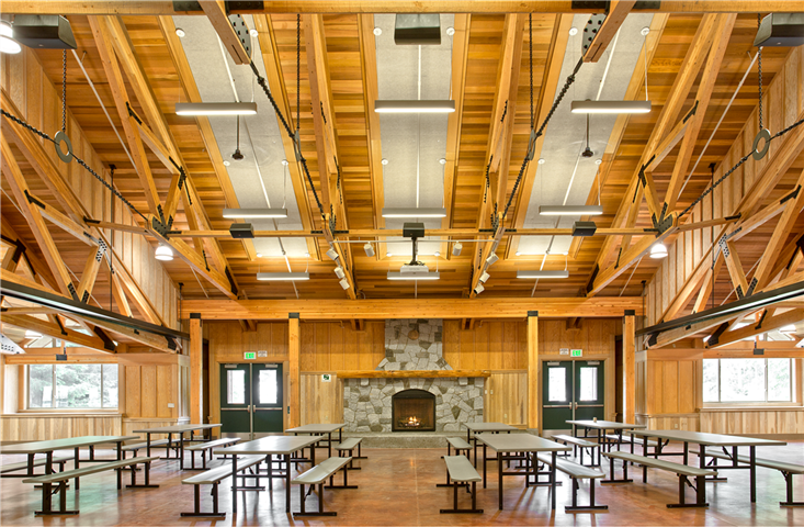 Bsa Camp Parsons Dining Hall Exxel Pacific