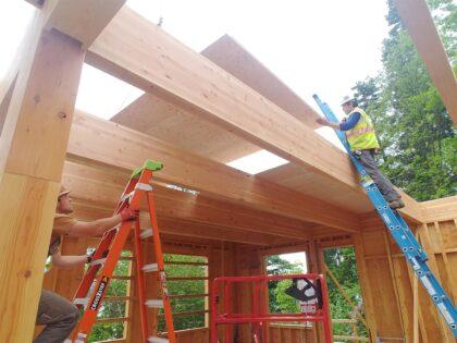 Setting Mass Plywood Panels